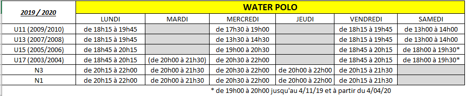 Horaires wp 24062019